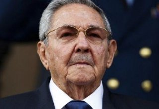 Raul Castro resigning from Cuba's Communist Party