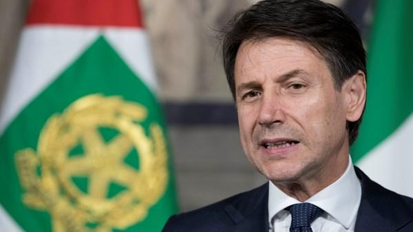 Italian PM says gov't united on Libya crisis