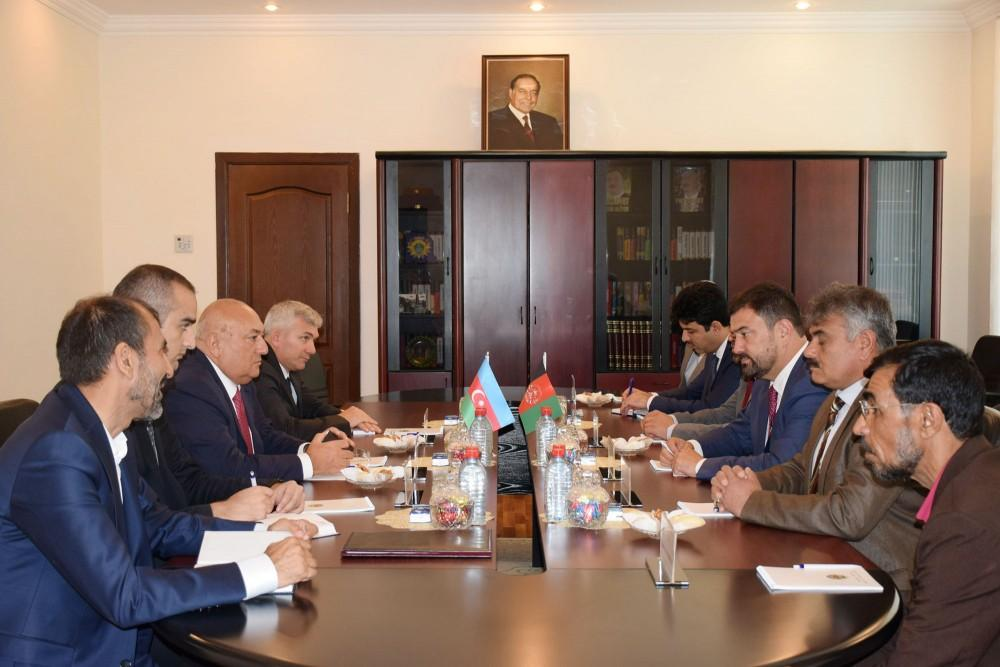 Azerbaijan, Afghanistan sign protocol on defense industry co-op (PHOTO)