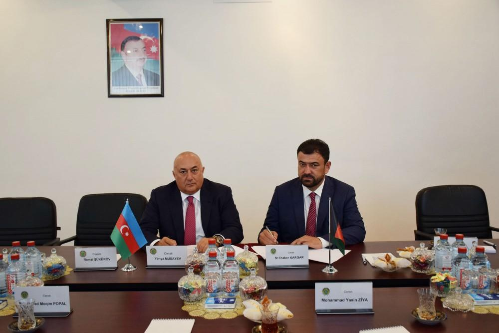 Azerbaijan, Afghanistan sign protocol on defense industry co-op (PHOTO) - Gallery Image