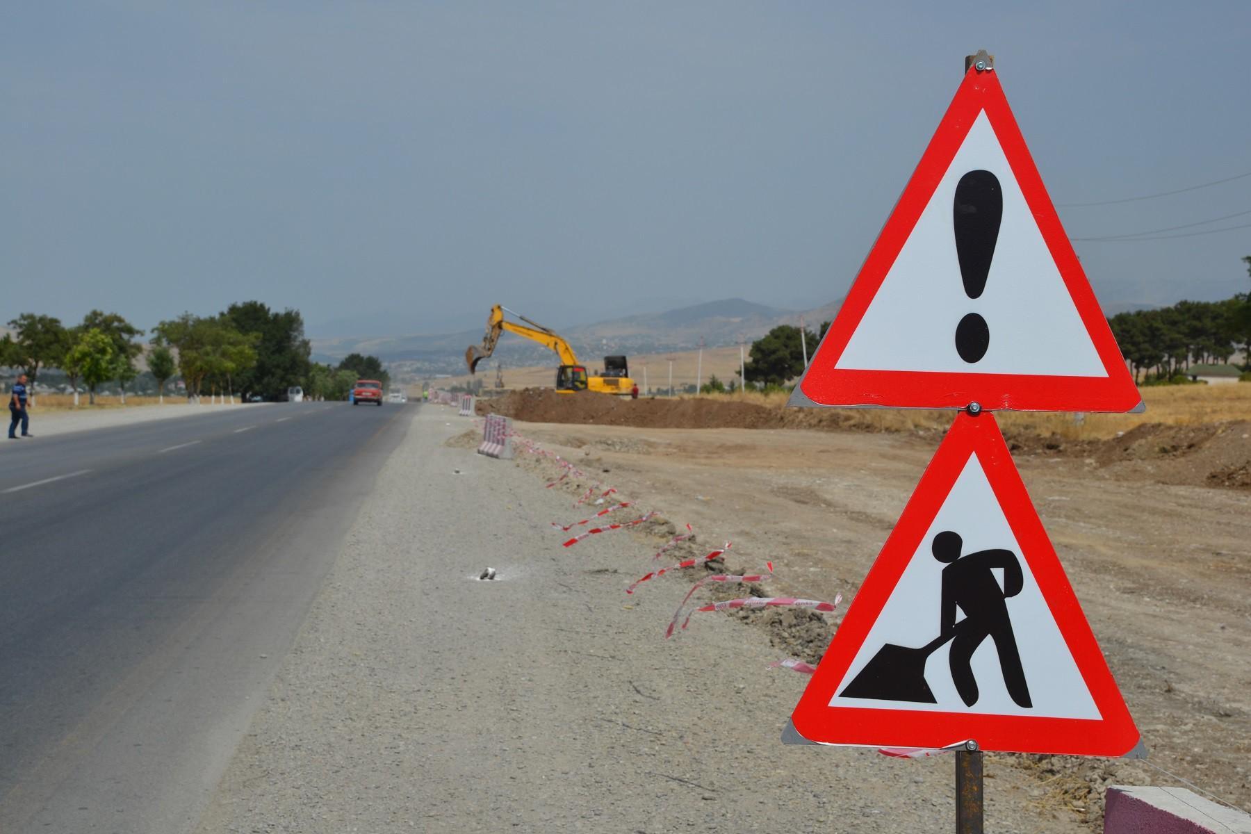 Bakı-Şamaxı-Yevlax avtomobil yolu 4 zolaqlı olacaq (FOTO/VİDEO)