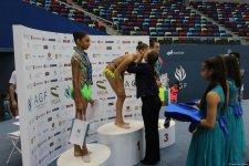 Bədii gimnastika üzrə Azərbaycan Çempionatının ikinci gününün mükafatçıları mükafatlandırılıb (FOTO) - Gallery Thumbnail