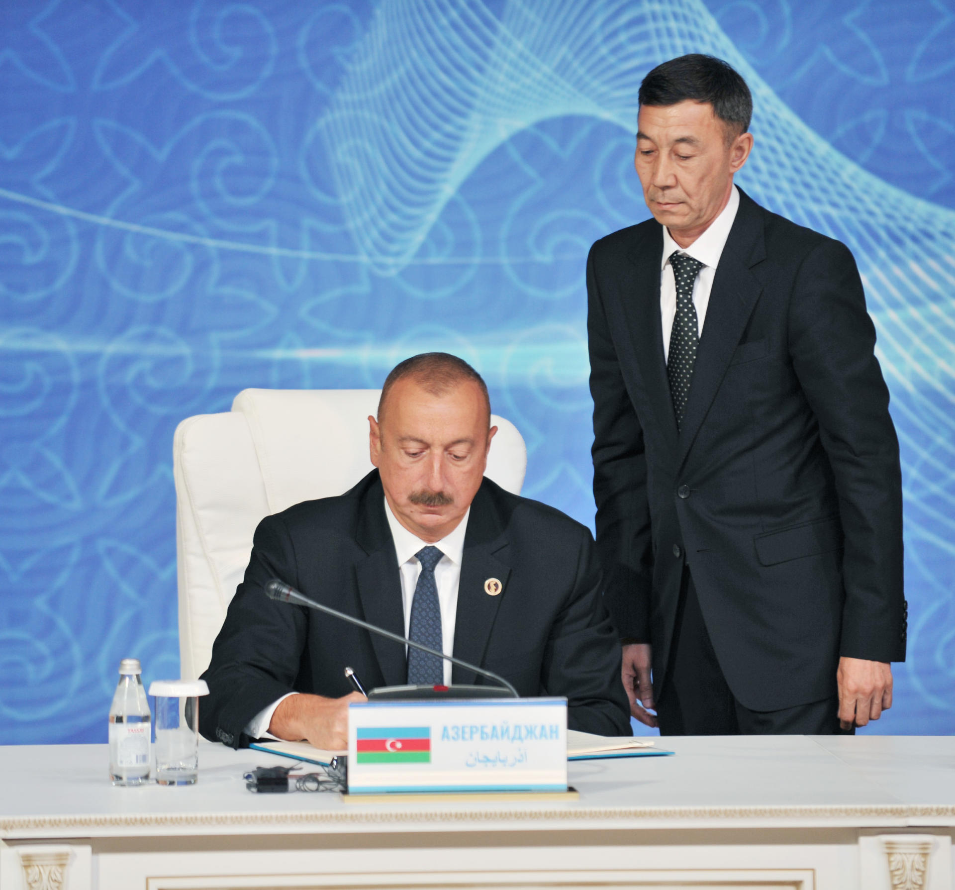 Heads Of State Of Caspian Littoral States Sign Convention