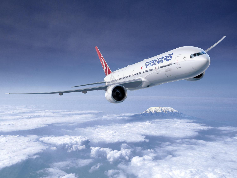 Авиакомпания Turkish Airlines в июле достигла самого высокого уровня загрузки