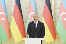 Ilham Aliyev, Angela Merkel hold joint press conference in Baku (PHOTO) - Gallery Thumbnail