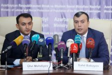 Azerbaijan's labor ministry, state agency ink co-op memo (PHOTO) - Gallery Thumbnail