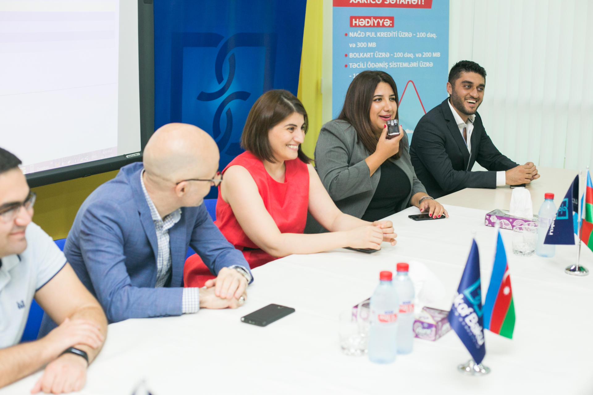 """Bakcell announces winners of lottery held together with """"Bank of Baku"""" (PHOTO) - Gallery Image"""