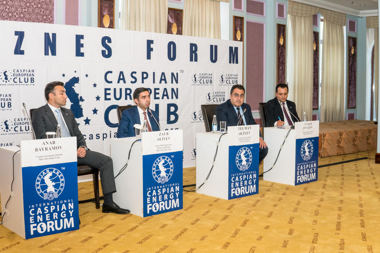 Caspian European Club holds business forum with State Agency for Mandatory Medical Insurance (PHOTO)