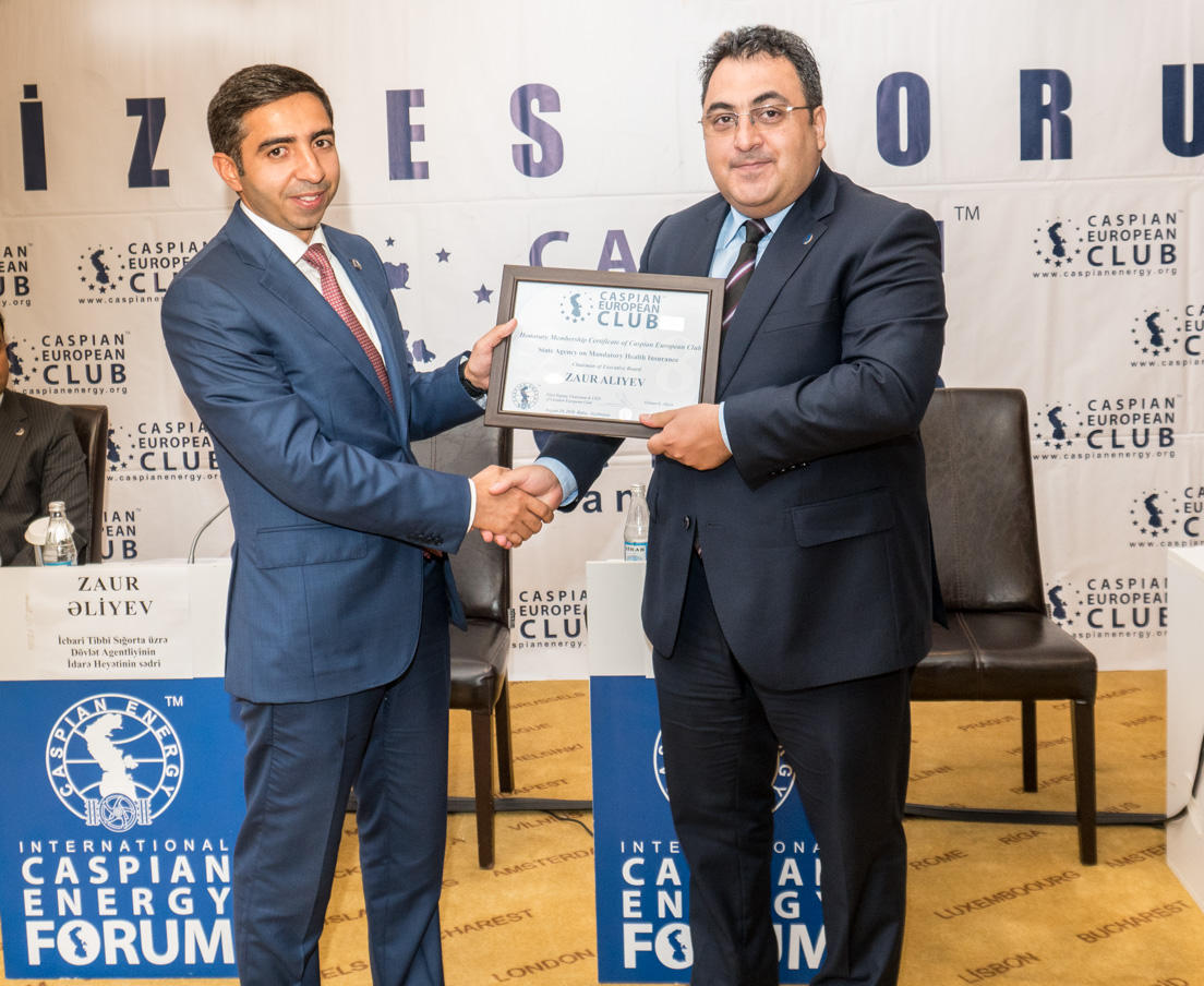 Caspian European Club holds business forum with State Agency for Mandatory Medical Insurance (PHOTO) - Gallery Image