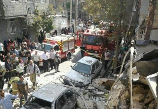 Gas blast in Tehran leaves 1 dead, 4 injured (PHOTO)