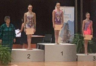 Bədii gimnastımız beynəlxalq turnirdə bürünc medal qazanıb