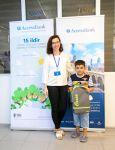 """""""AccessBank"""" növbəti dəfə regionlarda məktəbliləri sevindirdi (FOTO) - Gallery Thumbnail"""
