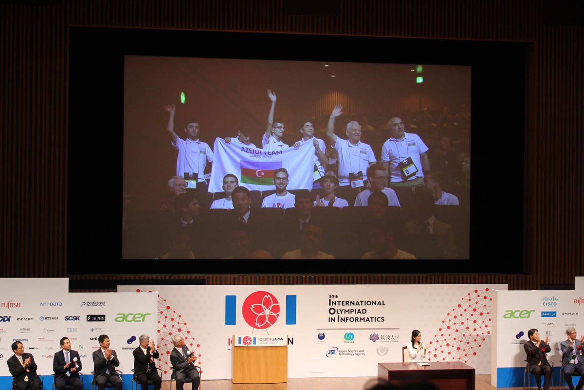 Int'l Olympiad in Informatics with Azercell's support ends (PHOTO) - Gallery Image