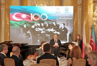 Warsaw hosts event marking centenary of Azerbaijan Democratic Republic (PHOTO)