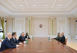 President Aliyev receives Israeli defense minister