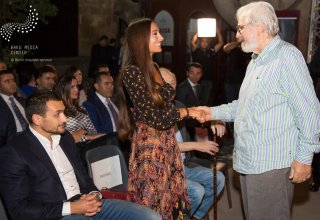 President of Baku Media Center Arzu Aliyeva attends music night on 120th anniversary of Azerbaijani cinema (PHOTO)