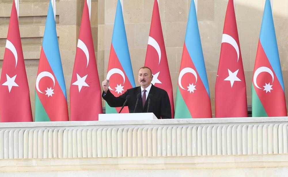 Prezident İlham Əliyev: Türkiyə nə qədər güclü olarsa, Azərbaycan da bir o qədər güclü olacaq