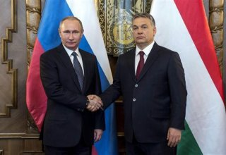Putin and Hungarian PM Orban to discuss gas supplies at talks in Moscow on Tuesday