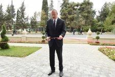 Prezident İlham Əliyev Biləsuvarda Gənclər Evinin açılışında iştirak edib (FOTO) - Gallery Thumbnail