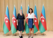 First VP Mehriban Aliyeva: Azerbaijan's territorial integrity must be restored, refugees must return to their homeland, only then peace will be established in region (PHOTO) - Gallery Thumbnail