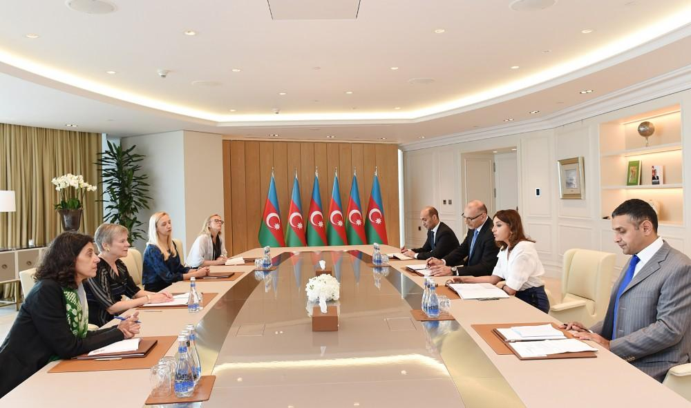 First VP Mehriban Aliyeva: Azerbaijan's territorial integrity must be restored, refugees must return to their homeland, only then peace will be established in region (PHOTO)