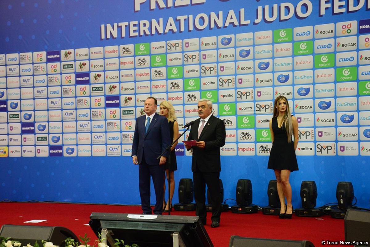 В Баку состоялась церемония открытия Чемпионата мира по дзюдо (ФОТОСЕССИЯ) - Gallery Image