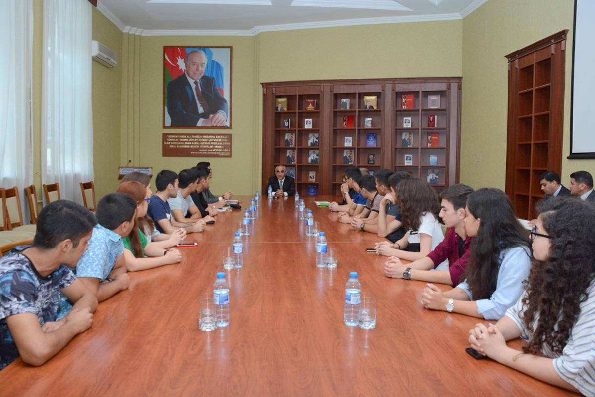 UNEC prezident təqaüdçülərinin sayına görə birincidir (FOTO) - Gallery Image