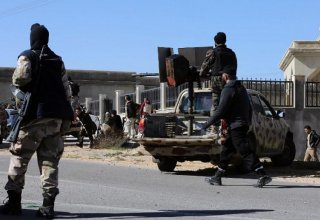 Clashes break out near presidential palace in Libyan capital