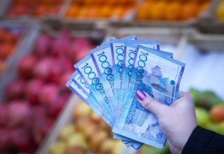 Kazakhstan's broad money value up