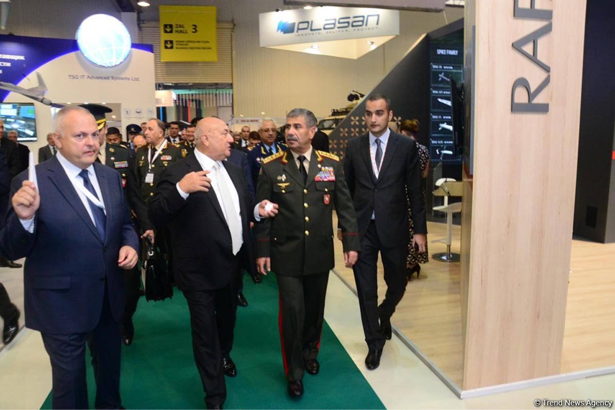 В Бакинском Экспоцентре открылась Азербайджанская международная оборонная выставка ADEX-2 (ФОТО) - Gallery Image