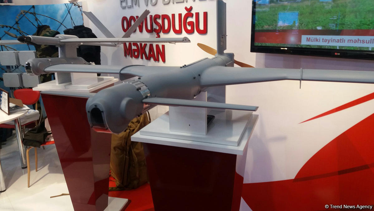 Azerbaijan Academy of Sciences produces kamikaze drone (PHOTO)