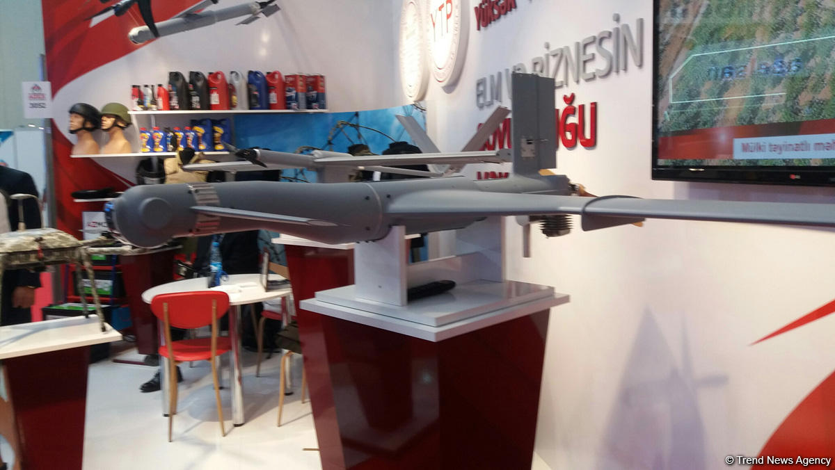Azerbaijan Academy of Sciences produces kamikaze drone (PHOTO) - Gallery Image