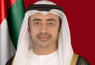 UAE foreign minister speaks with Israeli counterpart
