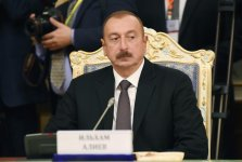 President Aliyev attends CIS Heads of State Council session in Dushanbe (PHOTO) - Gallery Thumbnail
