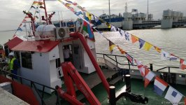 Baku port launches two new tugs (PHOTO) - Gallery Thumbnail