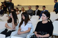 Famous German scholar delivers lecture at Baku's Heydar Aliyev Center (PHOTO) - Gallery Thumbnail