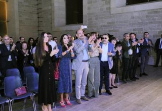 "Heydar Aliyev Foundation VP Leyla Aliyeva, Baku Media Center President Arzu Aliyeva take part in presentation of ""Bahariyya"" music performance as part of Nasimi Festival (PHOTO)"