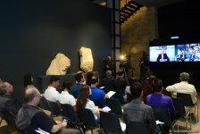 В рамках Фестиваля Насими прошел телемост с Вашингтоном – лекция Джереми Рифкина (ФОТО) - Gallery Thumbnail