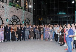 Heydar Aliyev Foundation VP Leyla Aliyeva, President of Baku Media Center Arzu Aliyeva attend awarding ceremony of winners of literary competition dedicated to Nasimi (PHOTO)