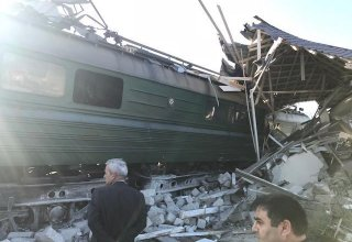 Criminal case launched over train collision with bus in Baku
