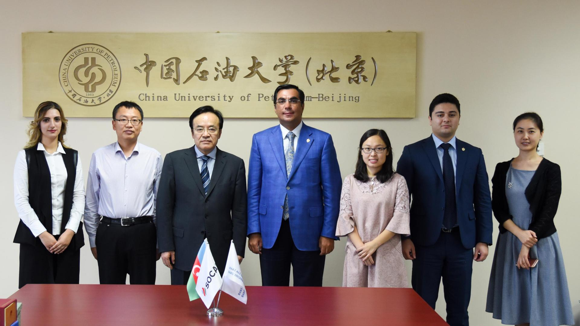 Baku Higher Oil School, China University of Petroleum sign Cooperation Agreement (PHOTO) - Gallery Image