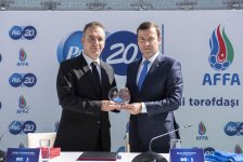 Partnership agreement signed between Procter & Gamble, AFFA (PHOTO/VIDEO) - Gallery Thumbnail