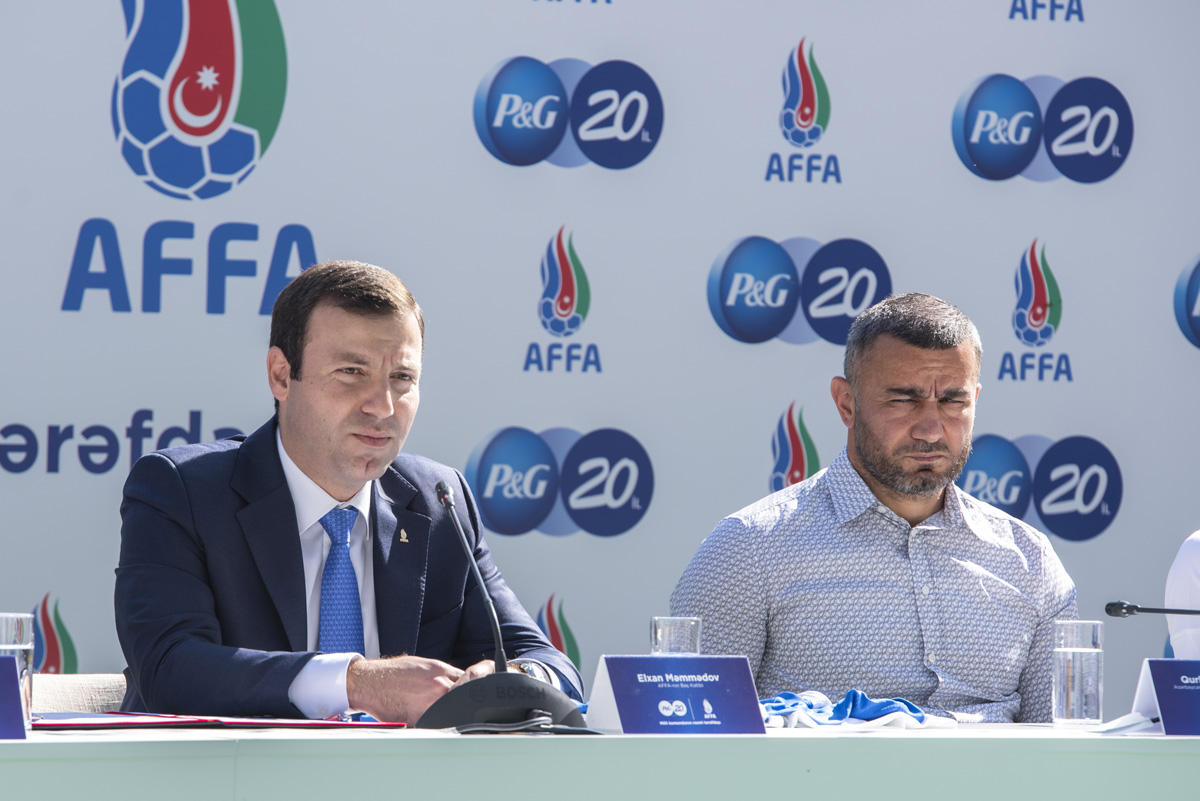 Partnership agreement signed between Procter & Gamble, AFFA (PHOTO/VIDEO) - Gallery Image