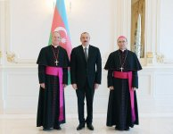 President Aliyev: Azerbaijan-Vatican relations demonstrate how representatives of different cultures, religions can successfully cooperate (PHOTO) - Gallery Thumbnail