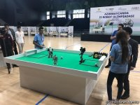 Second World Robot Olympics underway in Baku (PHOTO) - Gallery Thumbnail