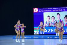 Best moments of final day of 4th Open Azerbaijan and Baku Aerobic Gymnastics Championships (PHOTO) - Gallery Thumbnail