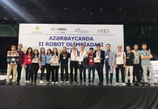 BHOS takes first three places at World Robot Olympics