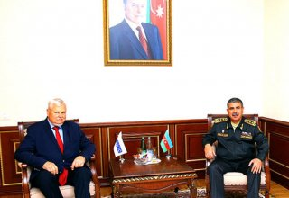 Azerbaijan Defense Minister meets Personal Representative of OSCE Chairperson-in-Office
