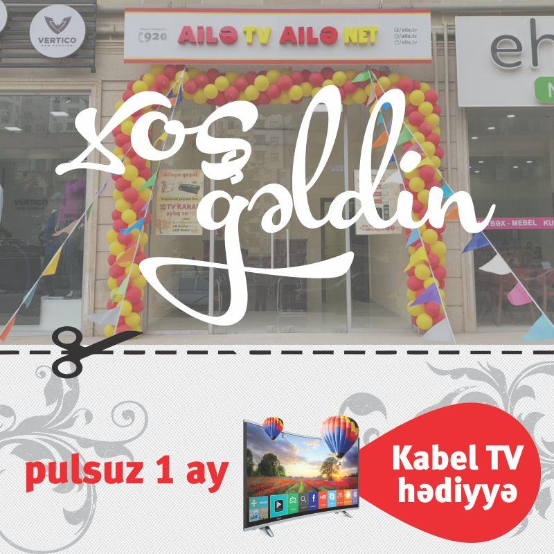 Филиал Ailə TV в Хырдалане переехал на новый адрес (ФОТО)
