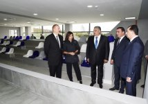 Azerbaijani president, first lady attend inauguration of Lankaran Olympic Sport Complex (PHOTO) - Gallery Thumbnail